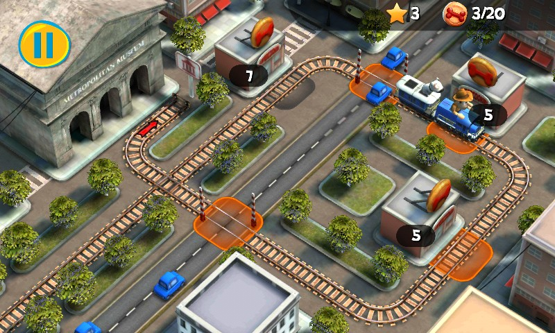 Tadeo Jones Train Crisis Pro – игра для Samsung Galaxy S4