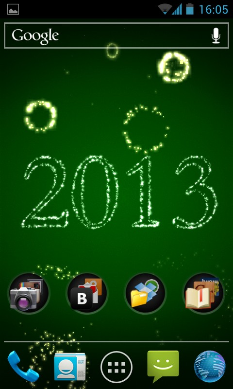 New Year Fireworks Live Wallpaper - живые обои для Samsung Galaxy S4