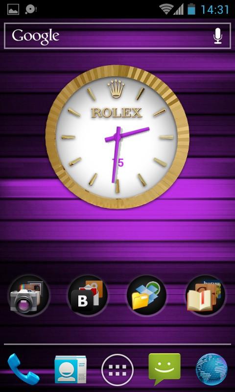 Virtual Rolex Live Wallpaper - Men´s - интерактивные обои для Samsung Galaxy S4