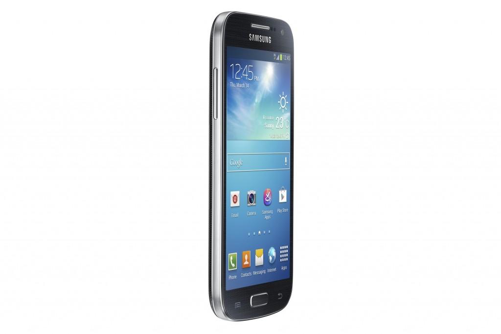Samsung Galaxy S4 Mini GT-I9190, черный - фото сбоку