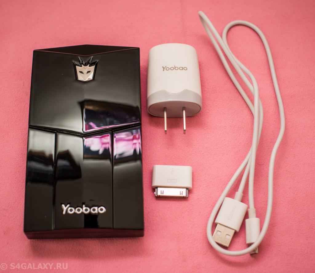 Комплект поставки Yoobao YB-651