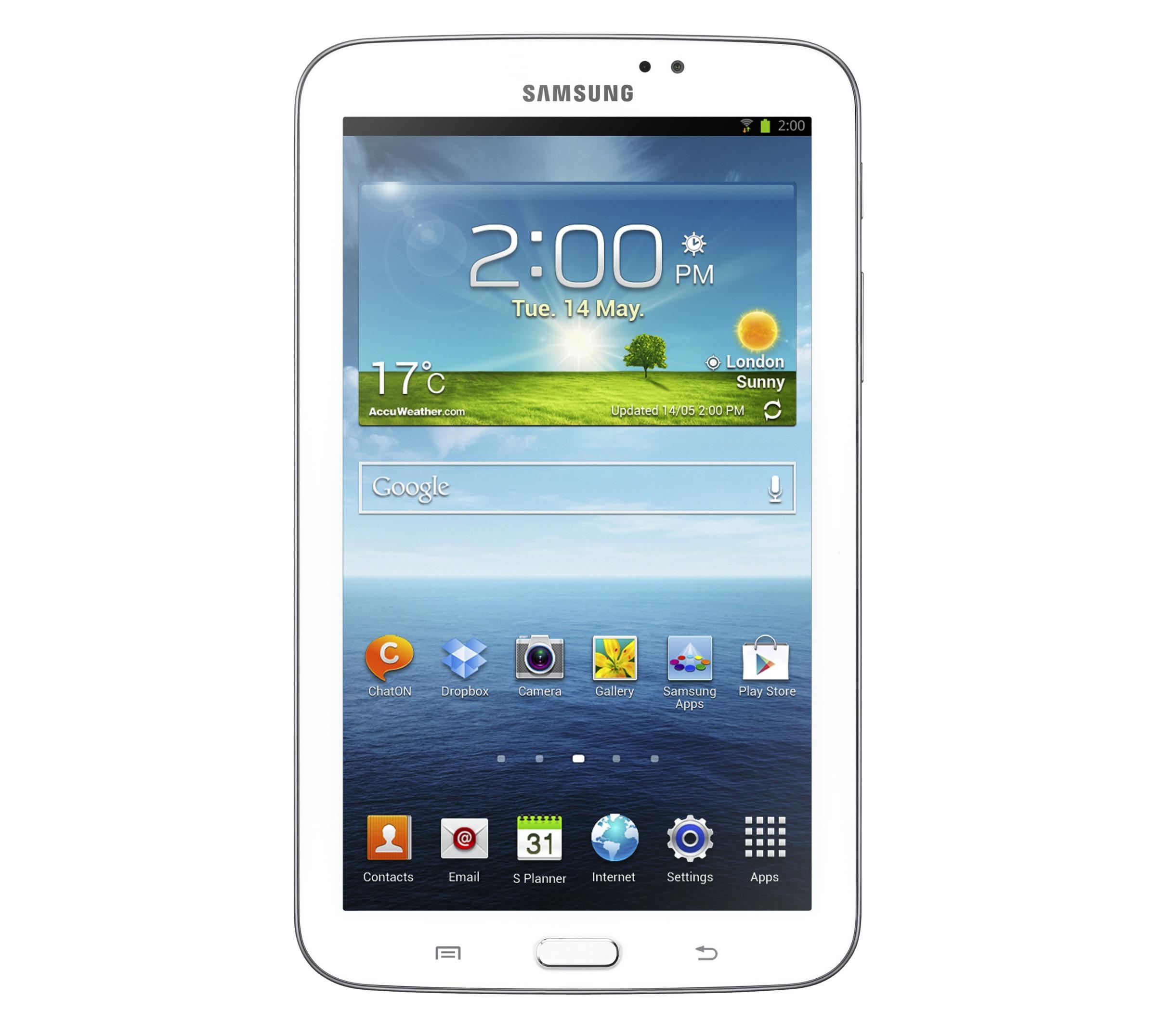 Внешний вид планшета Samsung Galaxy Tab 3 7.0