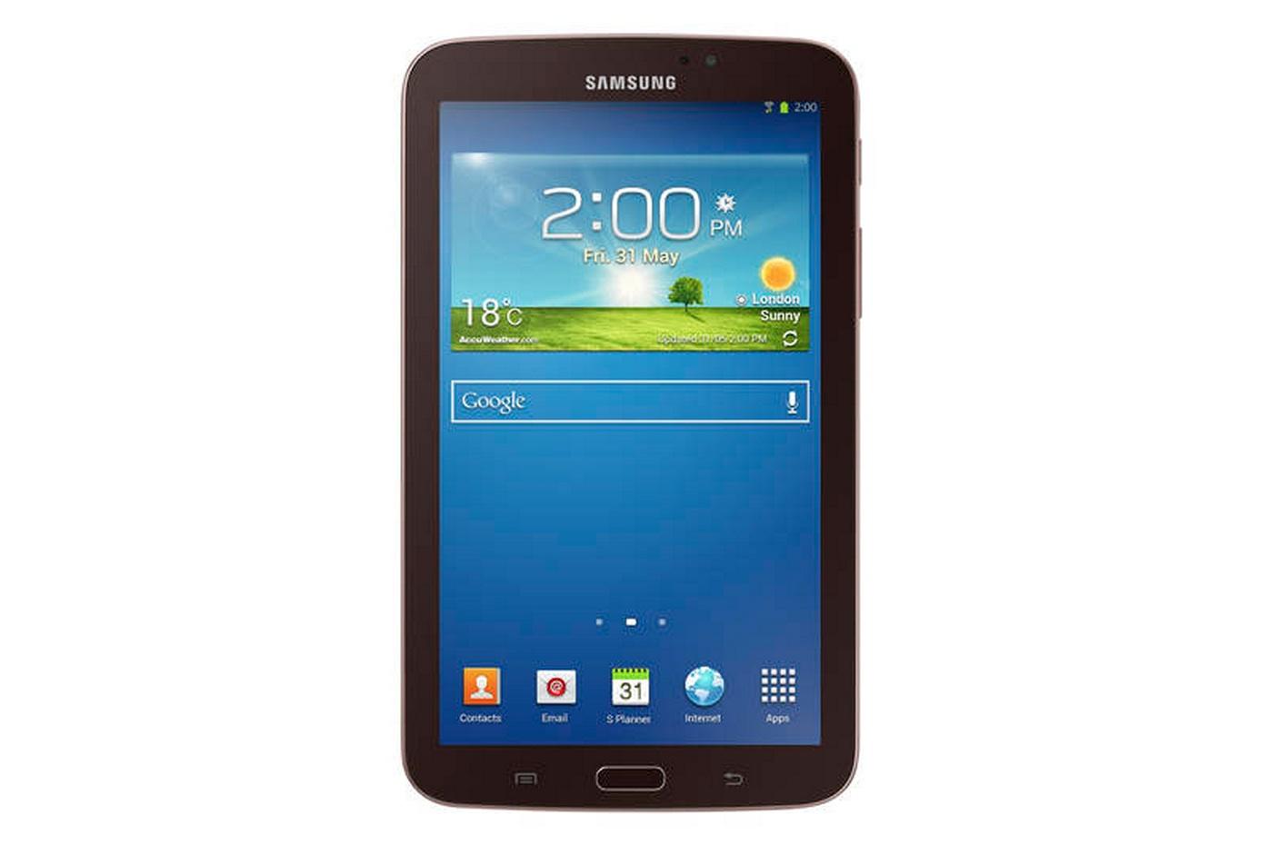 Samsung Galaxy Tab 3 7.0 - экран и лицевая панель