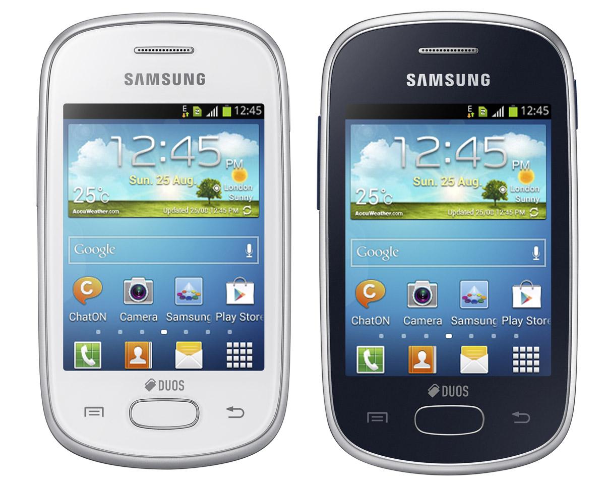 Samsung Galaxy Pocket Star - внешний вид