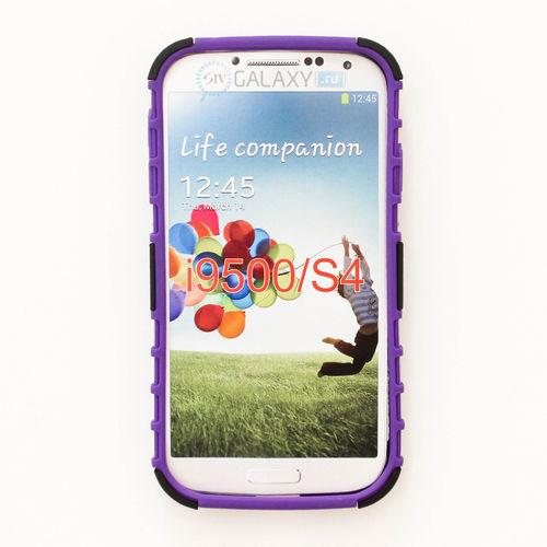 Фиолетовый чехол для Samsung Galaxy S4