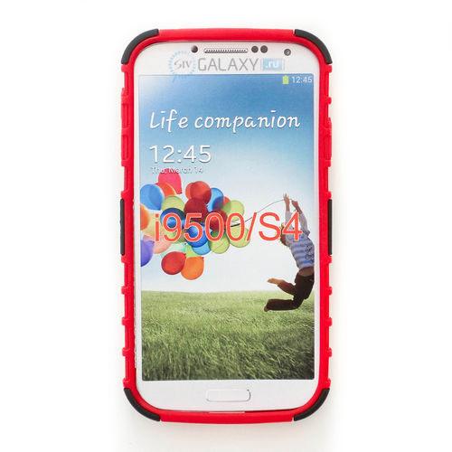 Противоударный красный чехол для Samsung Galaxy S4
