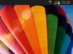 Galaxy S4 Balloon - живые обои
