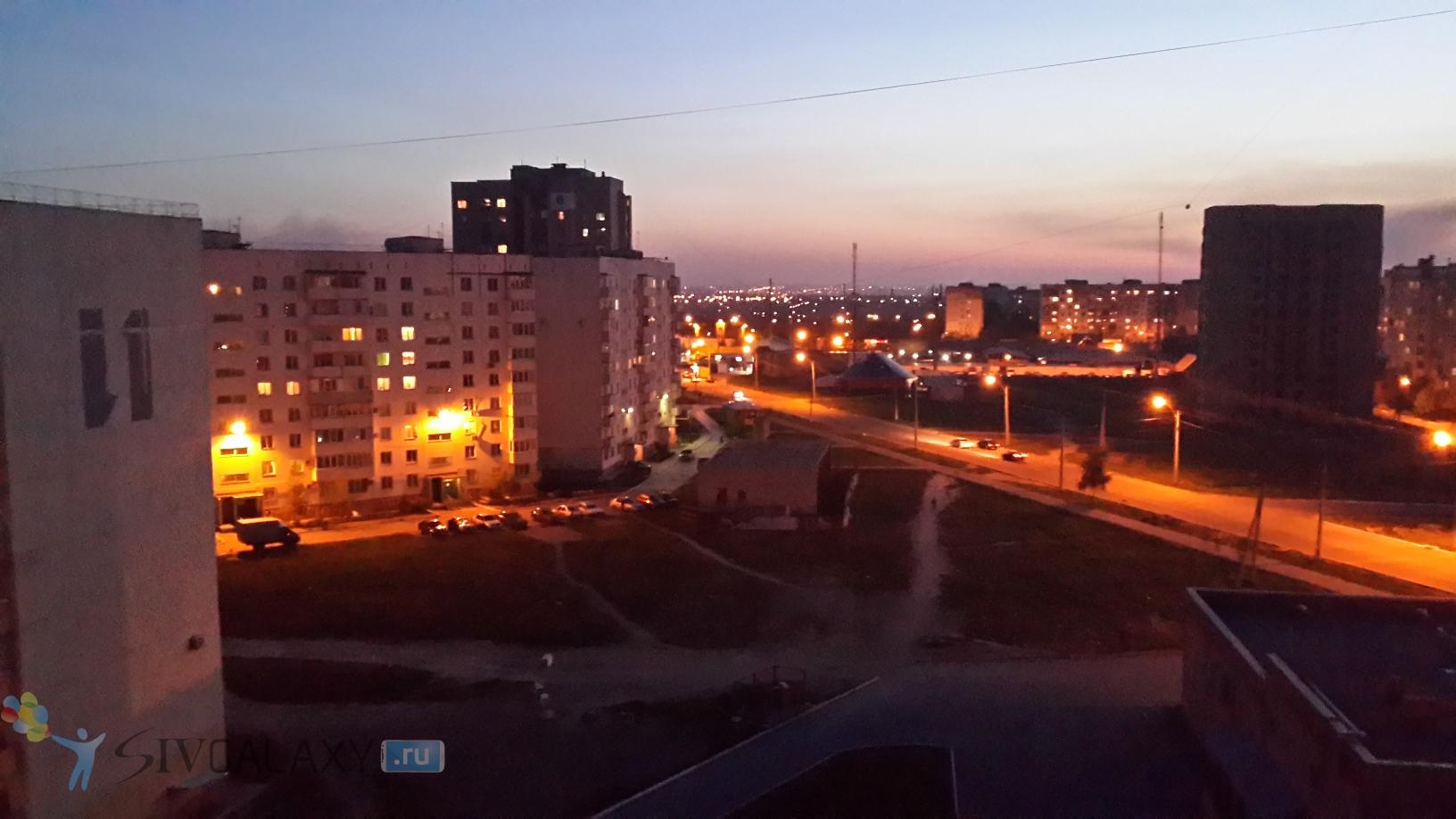 Фото с камеры Galaxy S4 - ночной режим