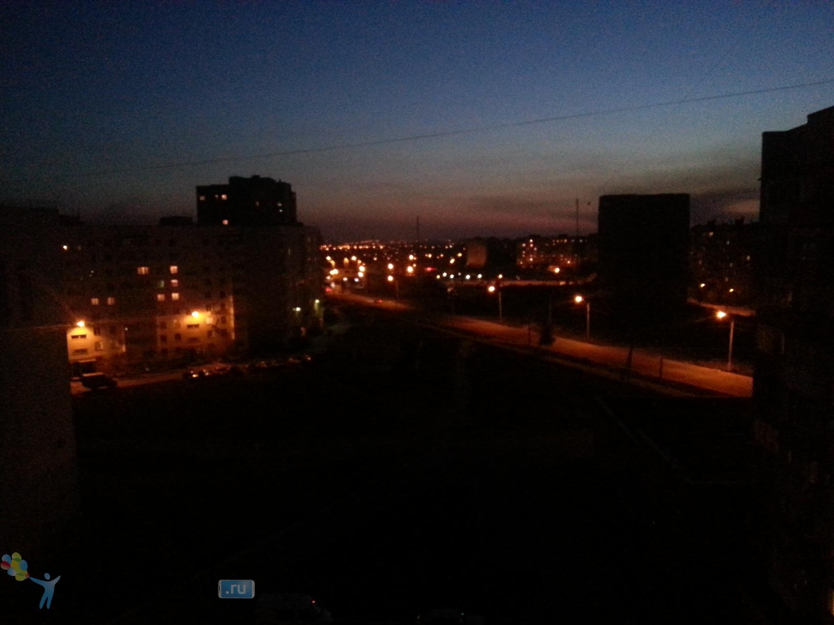 Фото с камеры Samsung Galaxy S3 - при слабом освещении