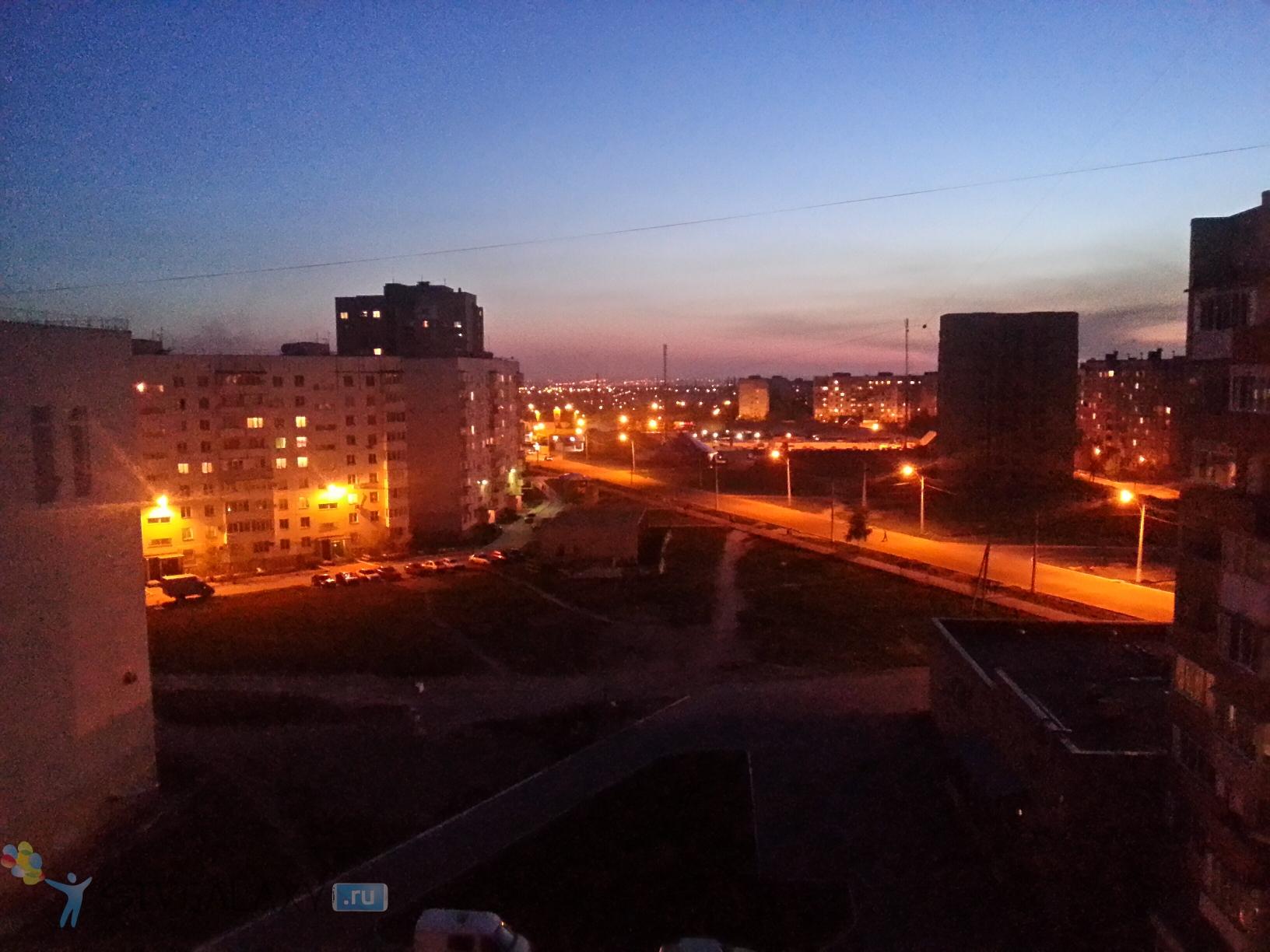 Фото с камеры Samsung Galaxy S3 - ночной режим
