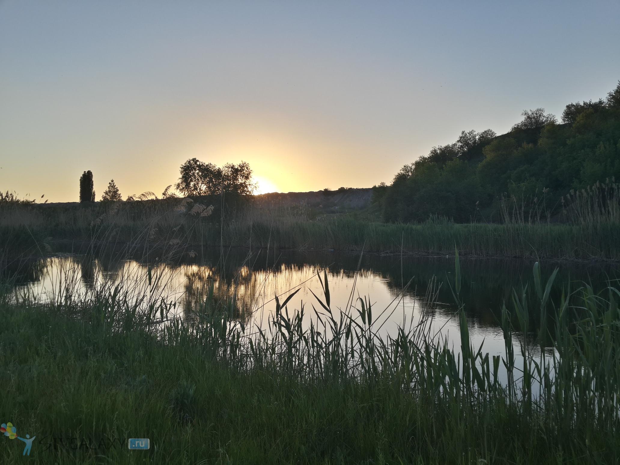 Пример фото с камеры Galaxy S4 в HDR - на реке