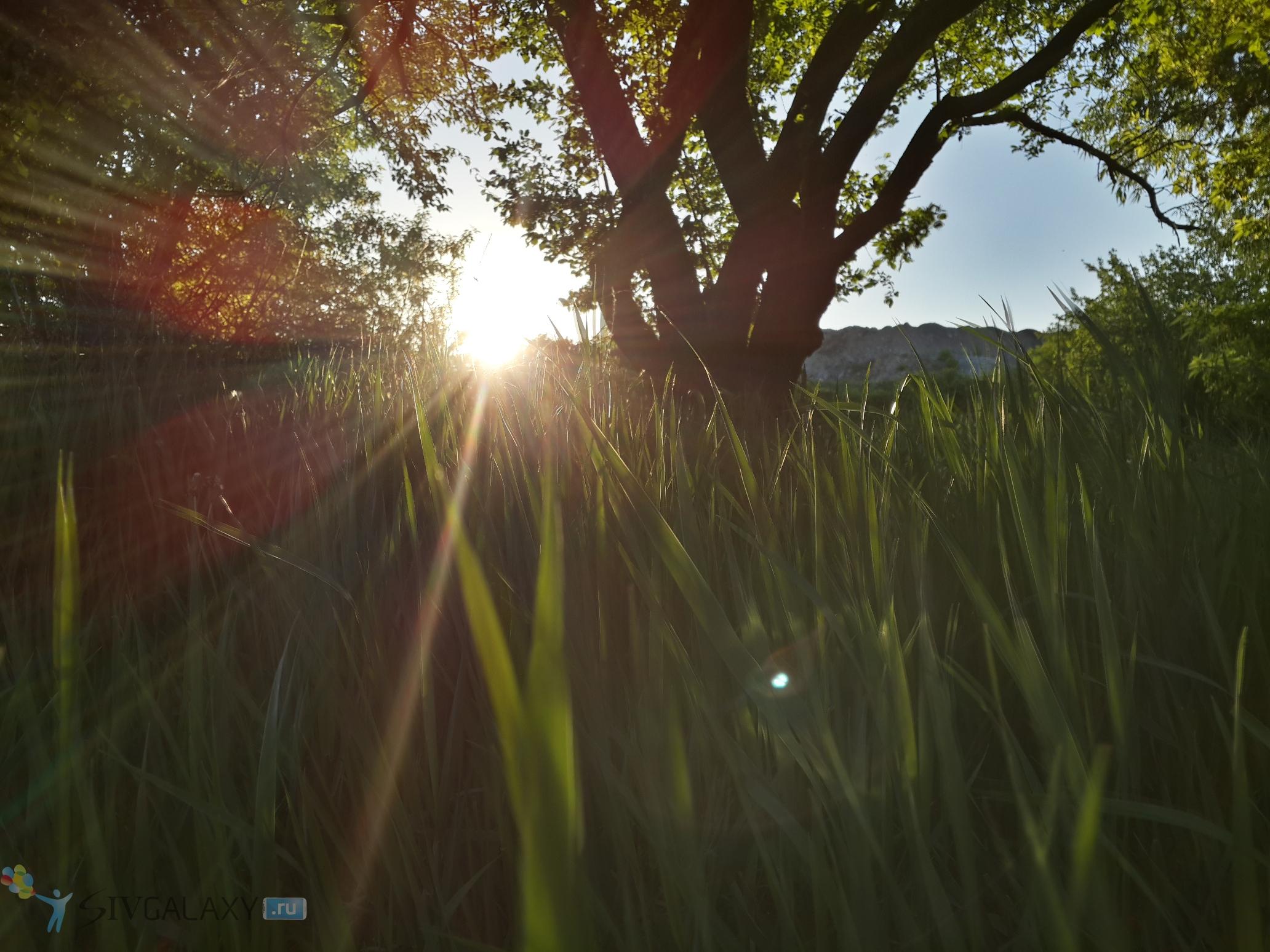 Пример фото с камеры Galaxy S4 в HDR - последний луч