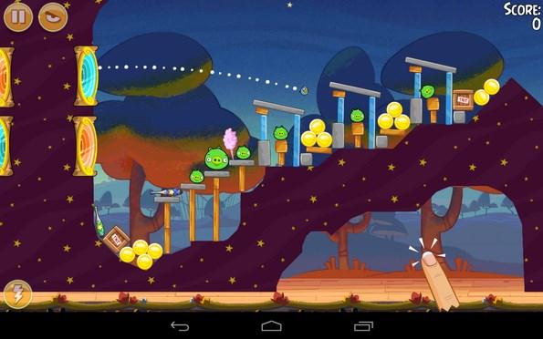 Angry Birds Seasons – новый сезон птичек для Samsung Galaxy
