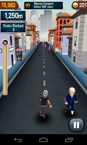 Angry Gran Run -раннер на Android