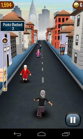 Angry Gran Run - раннер на смартфон Андроид