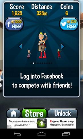 Angry Gran Run - игра на смартфоны Android
