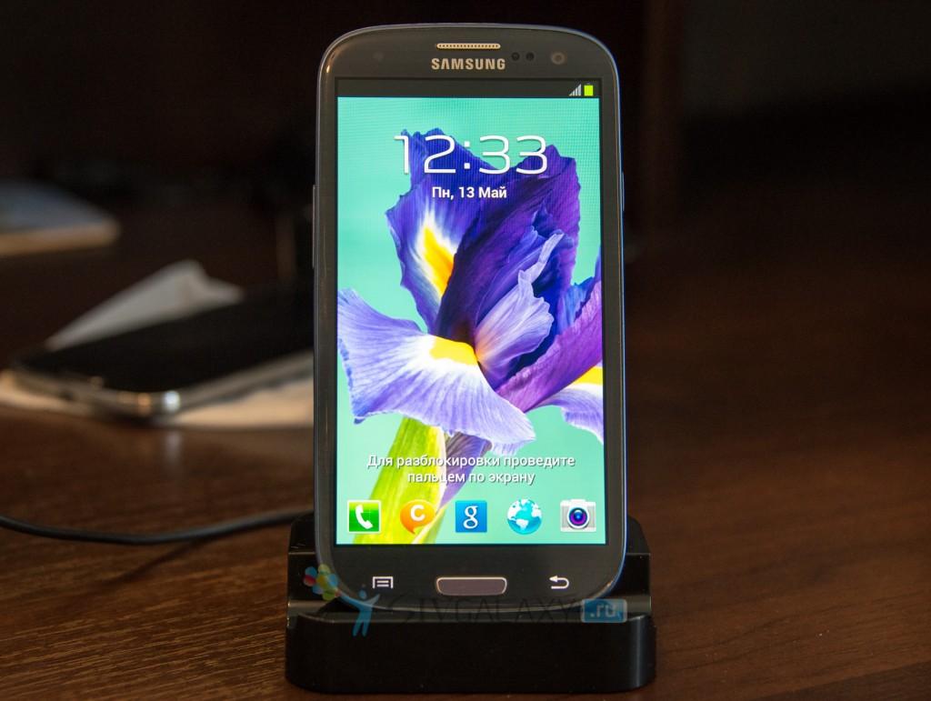 Док-станция на Samsung Galaxy S3 Note 2 - тест