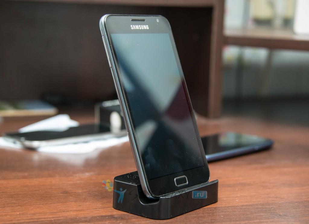 Samsung Galaxy Note и китайская док-станция