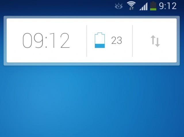 Виджеты часов и переключатели в стиле Google Now
