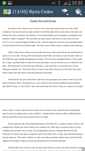EBook Droid - просмотр документов на Галакси С4