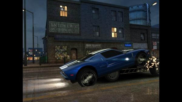 Игра Fast & Furious 6: The Game для Galaxy S4 - взлет тачки