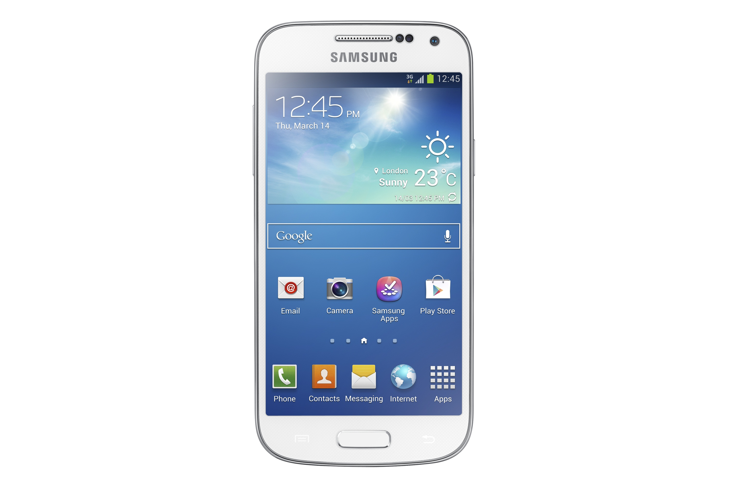 Samsung Galaxy S4 Mini белый