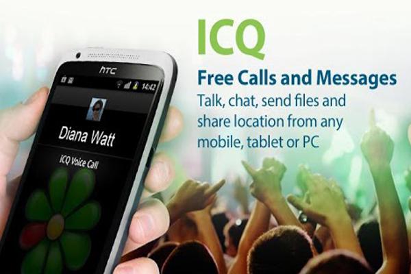 ICQ – популярнейший менеджер общения для Android