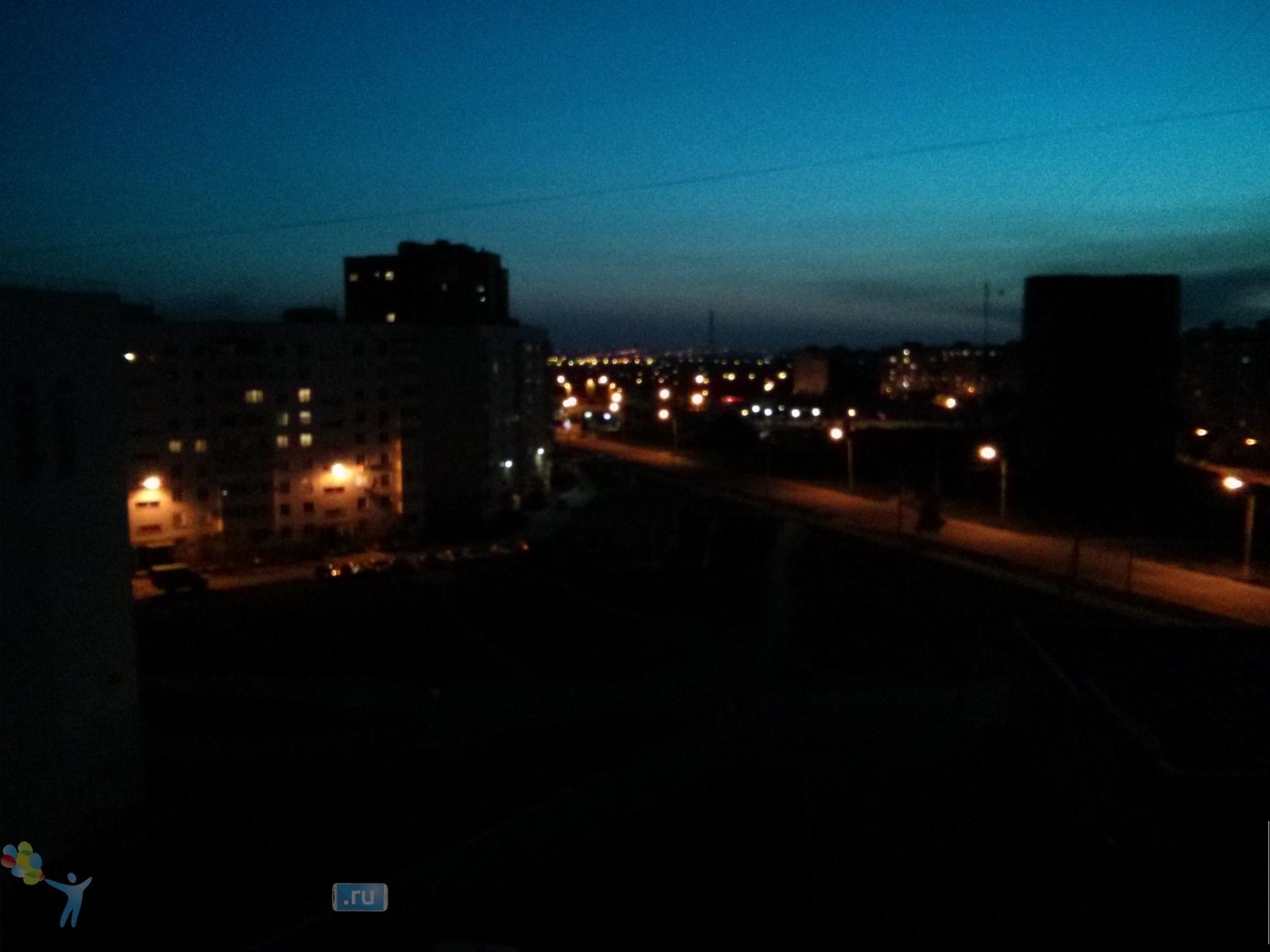 Фото с камеры LG Nexus 4 - ночь на автомате