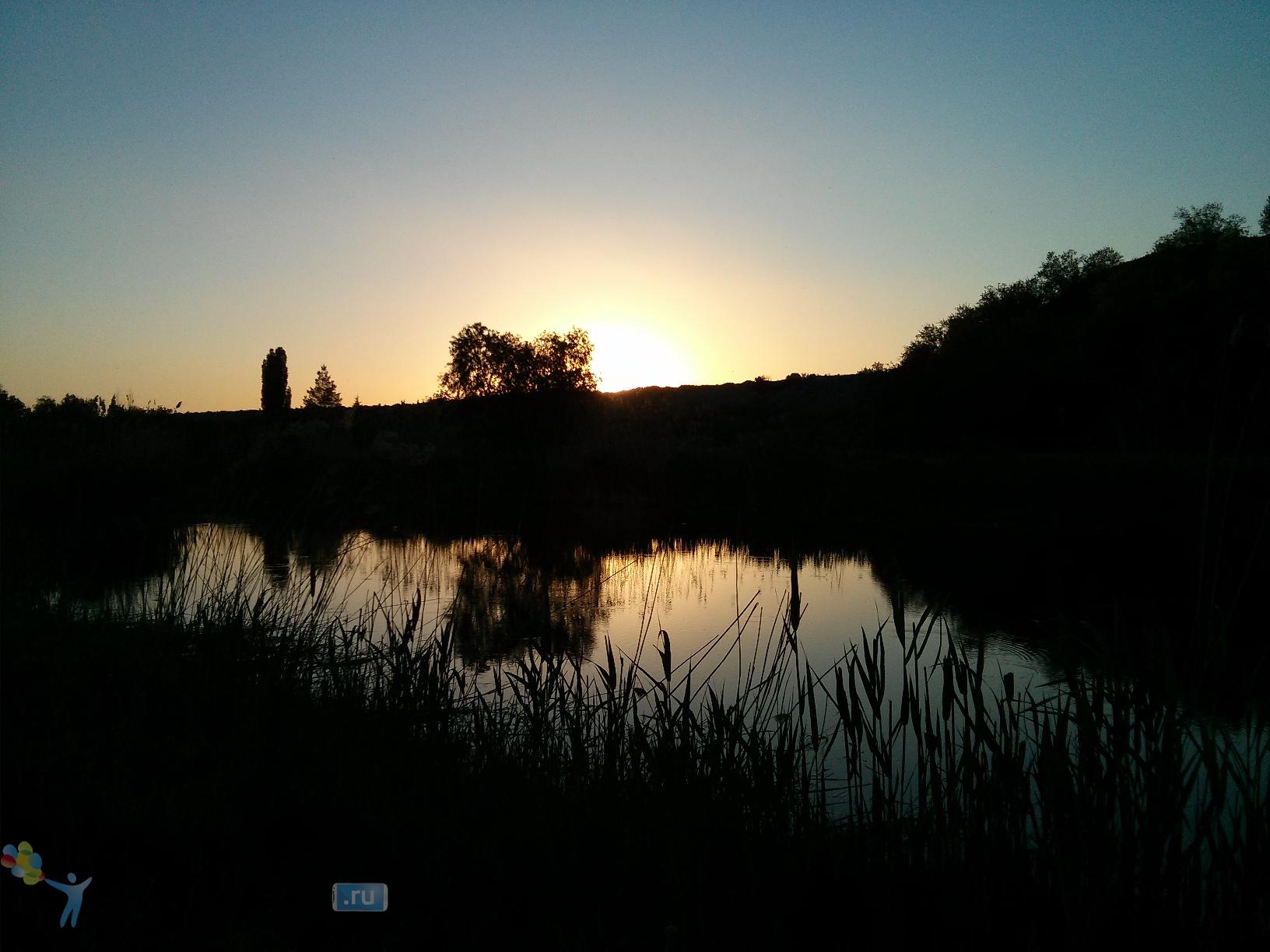 Фото с камеры LG Nexus 4 - вечений пейзаж