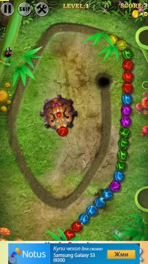 Marble Blast 3 – уничтожаем шарики для Android