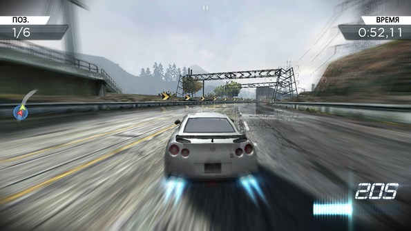 Need for Speed: Most Wanted – особо опасные гонки для Android