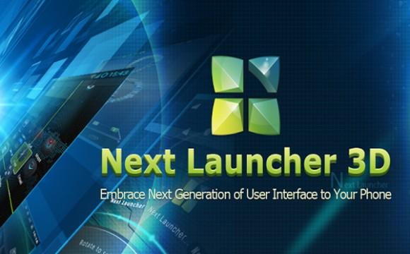 Next Launcher 3D – прогрессивный лаунчер