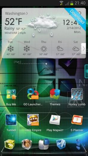 Next Launcher 3D – прогрессивный лаунчер для Android