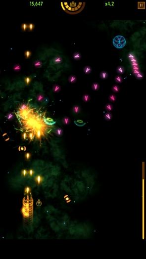 Plasma Sky - атаки противника