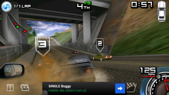 Игра Race Illegal: High Speed 3D для Samsung Galaxy S4