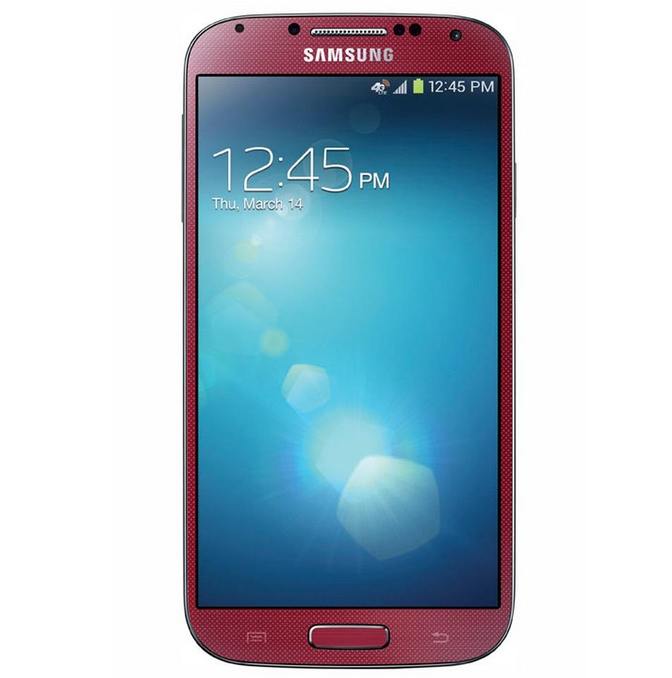 Galaxy S IV в красном цвете
