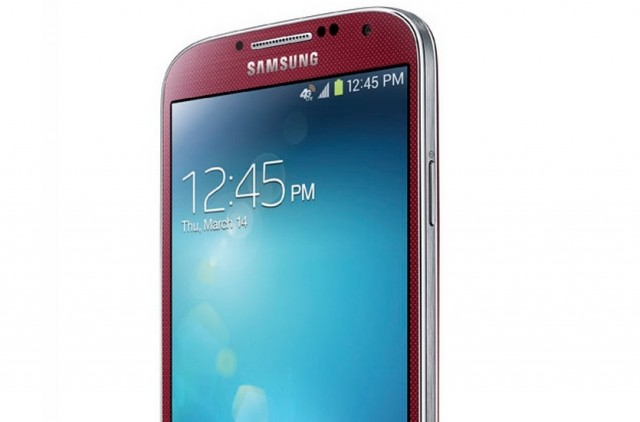 Galaxy S IV Aurora Red
