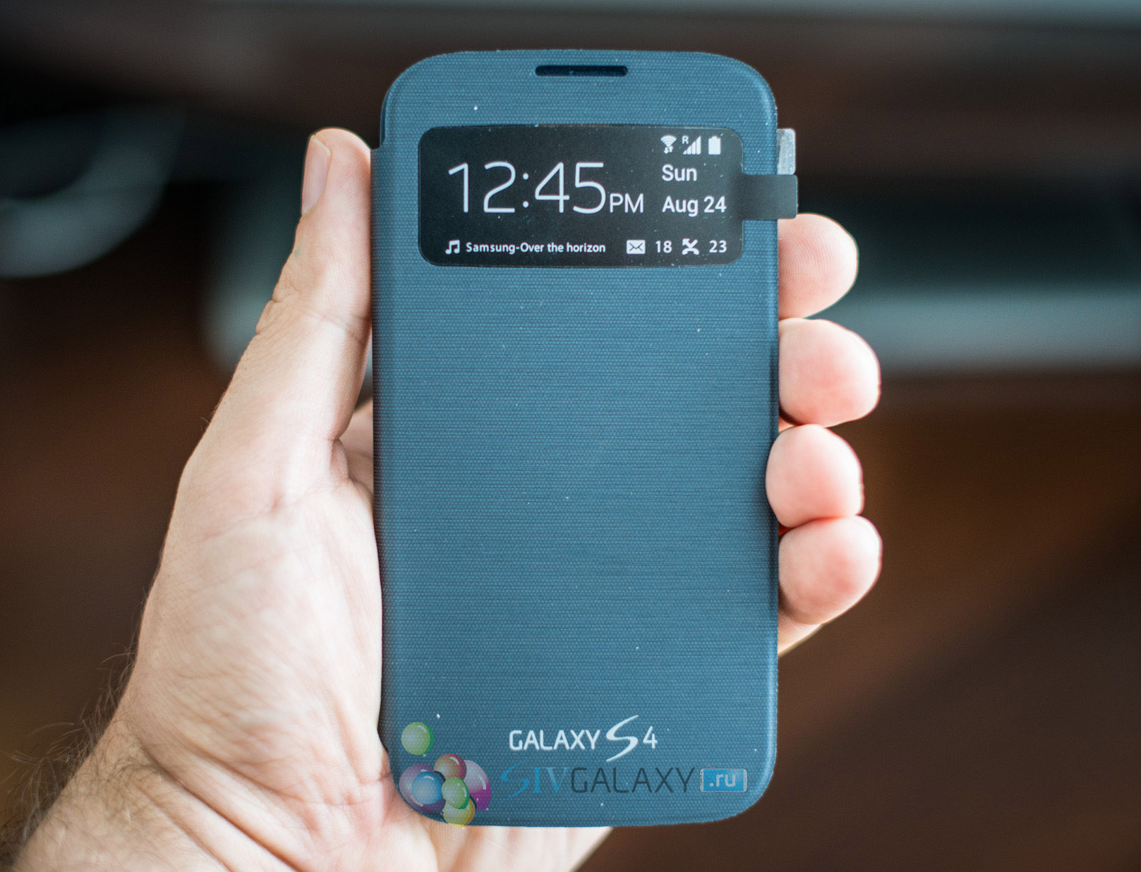 S View Cover для Samsung Galaxy S4
