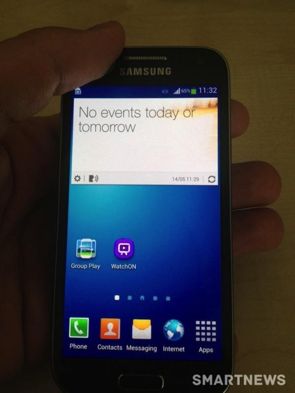 Фотографии Samsung Galaxy SIV Mini - экран