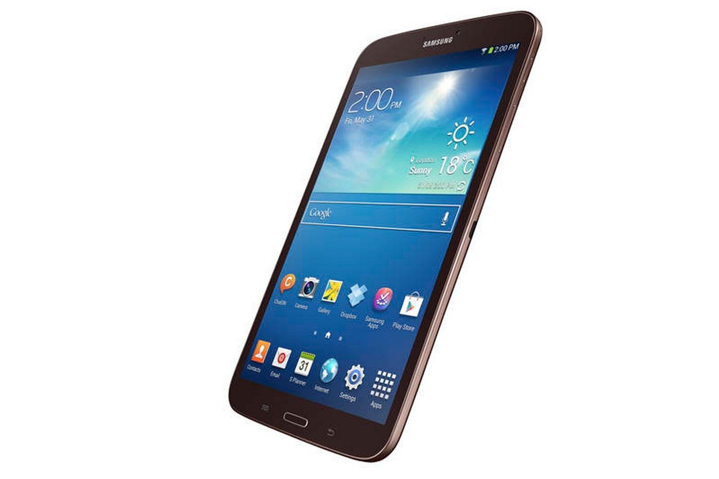 Samsung Galaxy Tab 3 8.0 - вид сбоку