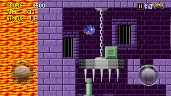 Sonic The Hedgehog для Samsung Galaxy S4 - замок