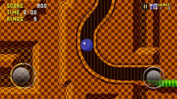 Sonic The Hedgehog для Samsung Galaxy S4 - катаемся по лабиринтам