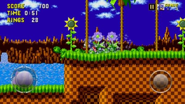 Игра Sonic The Hedgehog - обзор на Галакси С4