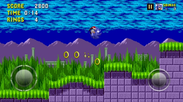 Игра Sonic The Hedgehog для Android