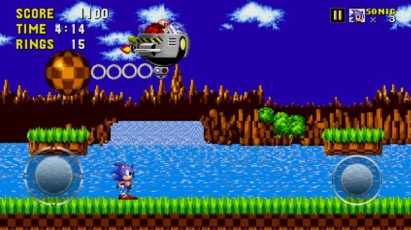 Sonic The Hedgehog на Samsung Galaxy S4 - босс