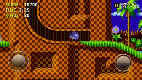 Sonic The Hedgehog на Samsung Galaxy S4 - подземелья