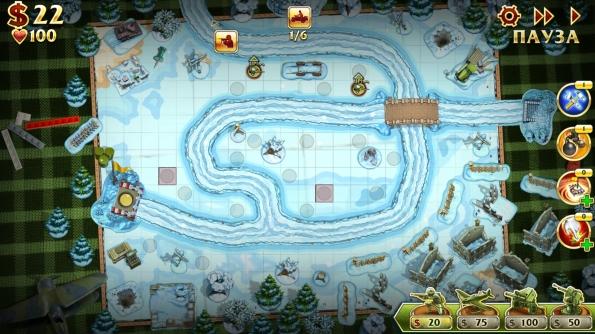 Солдатики 2 - игровая площадь
