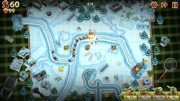 Игра Toy Defense 2 - сражение идет