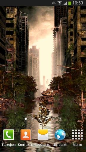 Живые обои OXON L.W.Apocalypse Free 3D для Galaxy S4