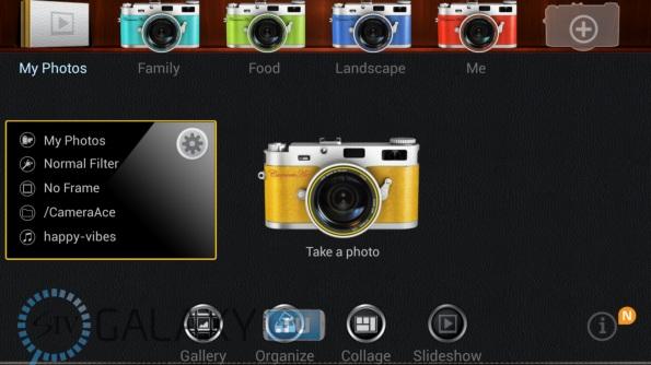 Каталоги в CameraAce